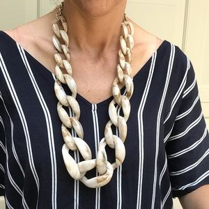 BAUBLEBAR statement plastic chain necklace